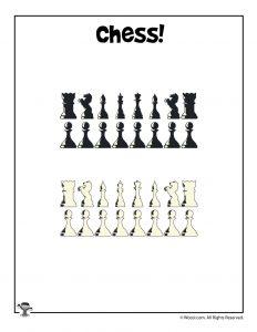 Printable Chess Pieces