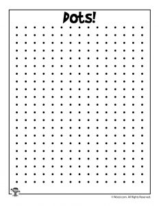 Printable Dots Game