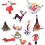 Vintage Printable Christmas Ornaments