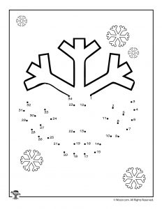 winter dot to dots activity pages woo jr kids activities. Black Bedroom Furniture Sets. Home Design Ideas