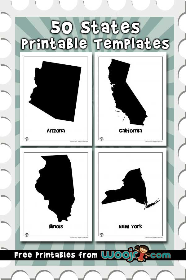 graphic regarding 50 States Activities Printable titled 50 Claims Printable Templates Woo! Jr. Young children Functions