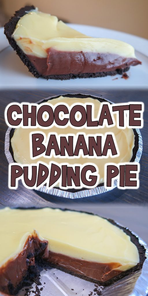 Chocolate Banana Pudding Pie