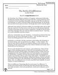 Wiesel - Perils of Indifference Page 1 of 5
