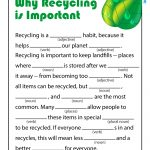 Earth Day Ad Libs for Kids
