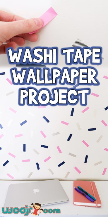 Washi Tape Wallpaper Project