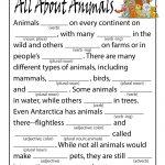 Animal Ad Libs for Kids