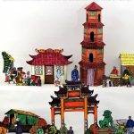 Chinese Diorama Printable Craft for Chinese New Year