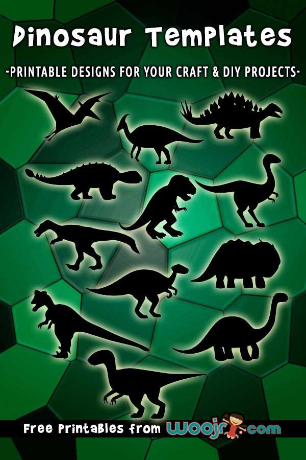 Dinosaur Templates Printables
