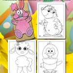 Easter Paper Bag Puppets Craft for Kids