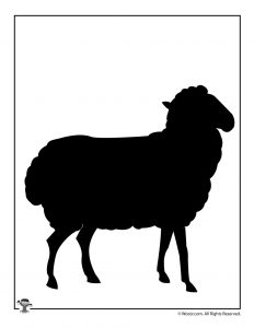 Sheep Template