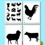 Printable Farm Templates and Shapes