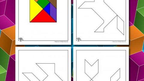 Printable Tangrams Animal Puzzles