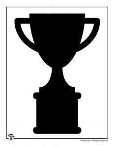 Sports Trophy Silhouette