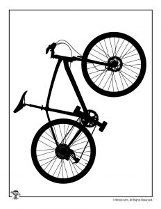 Bicycle Silhouette Printable