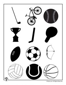 Combined All Sports Silhouettes
