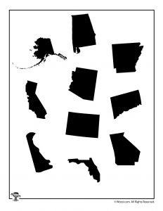 United States Shapes 5