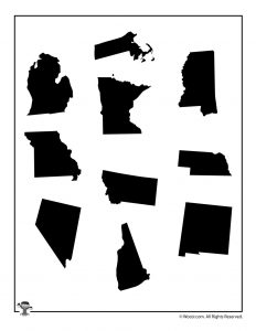 United States Shapes 3