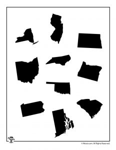 United States Shapes 1