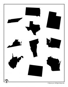 United States Shapes 2