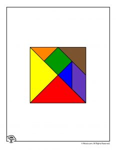 image relating to Printable Tangram named Printable Tangrams Animal Puzzles Woo! Jr. Youngsters Functions