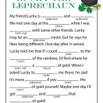 St. Patrick's Day Mad Libs for Kids