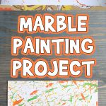 Marble Painting Process Art Project for Kids