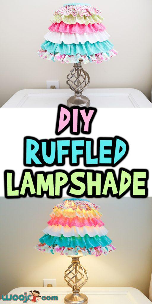 DIY Ruffled Lampshade