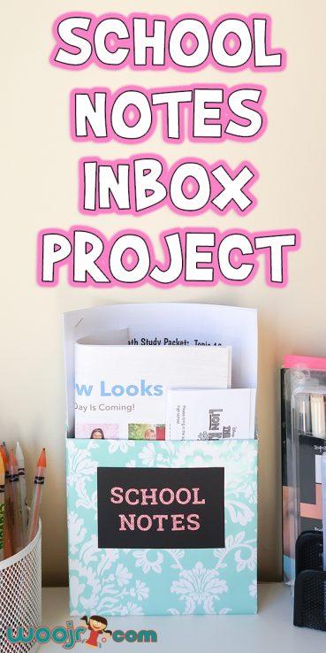 School Note Inbox Project