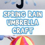Spring Rain Umbrella Craft