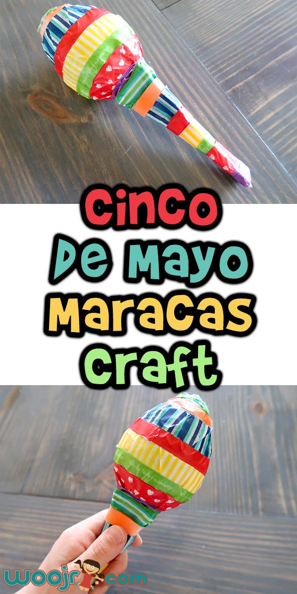 Cinco De Mayo Maracas Craft Woo Jr Kids Activities