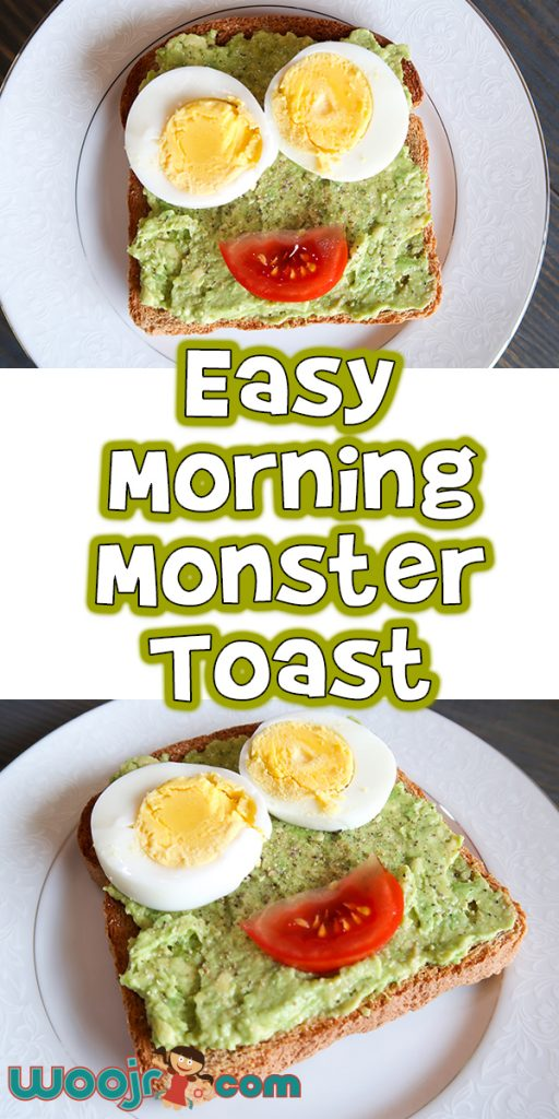 Easy Morning Monster Toast