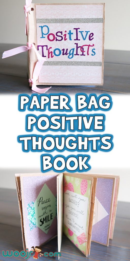 Paper Bag Positive Thoughts Book