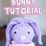 Sock Easter Bunny Tutorial