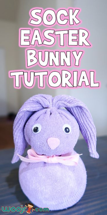 Sock Easter Bunny Tutorial