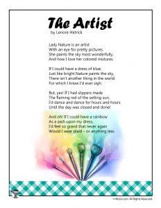 The Artist Poem