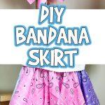 DIY Bandana Skirt