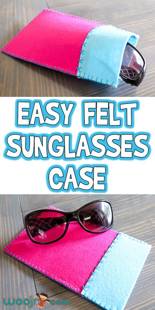 Easy Felt Sunglasses Case