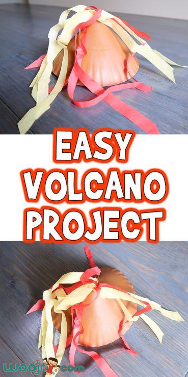 Easy Preschool Volcano Project