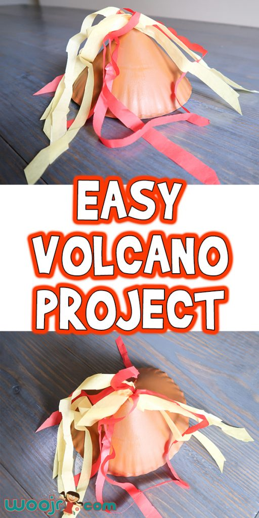 Easy Preschool Volcano Project