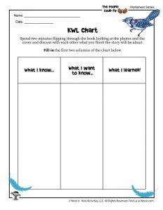 KWL Chart Worksheet