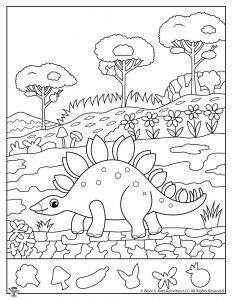graphic relating to Printable Hidden Picture Game named Dinosaur Concealed Photos Match Printables Woo! Jr. Children