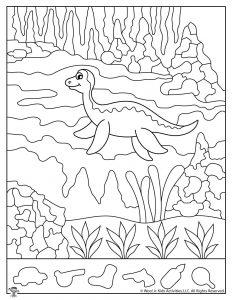 Plesiosaur Hidden Objects Game