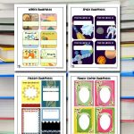 Printable Bookplates for Kids