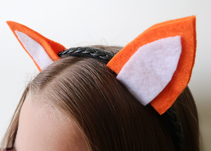 Cute Fox Ears Headband Craft