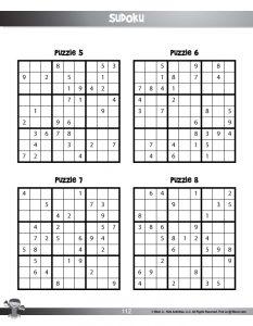9 x 9 Printable Sudoku