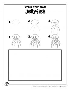 Jellyfish Drawing Activity
