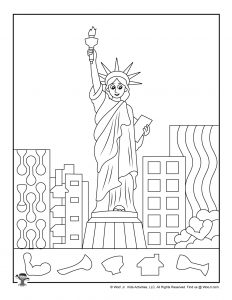 Statue of Liberty Hidden Object Printable