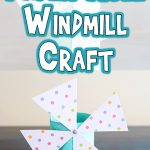 Toilet Paper Roll Windmill Craft