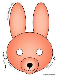 Bunny Printable Mask