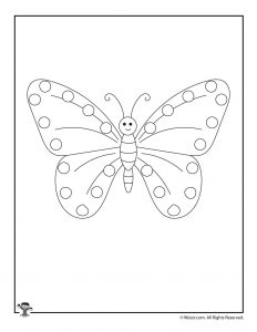 Butterfly Lacing Card Craft